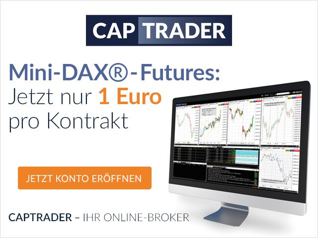 CapTrader Mini DAX Futures guenstig traden