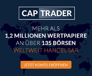 CapTrader Konto mit Zugang zu mehr als 1 Millionen Wertpapieren
